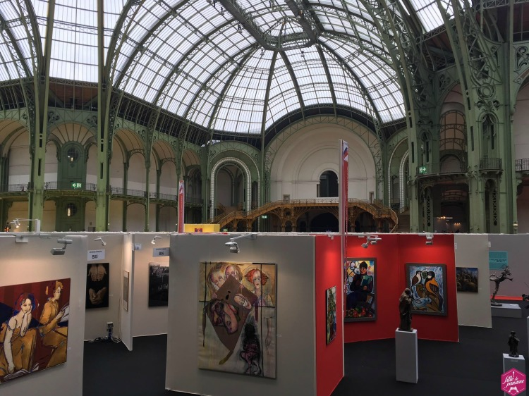 GRAND PALAIS, art capital 2017, salon des artistes francais