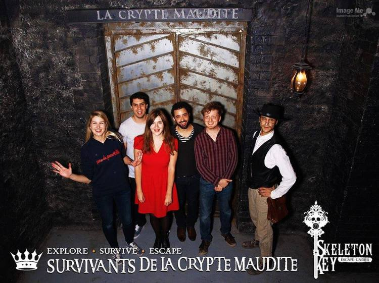 "La Crypte Maudite : Escape game ""The Skeleton Key"""