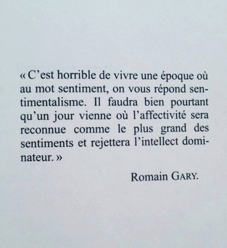 citation Romain Gary