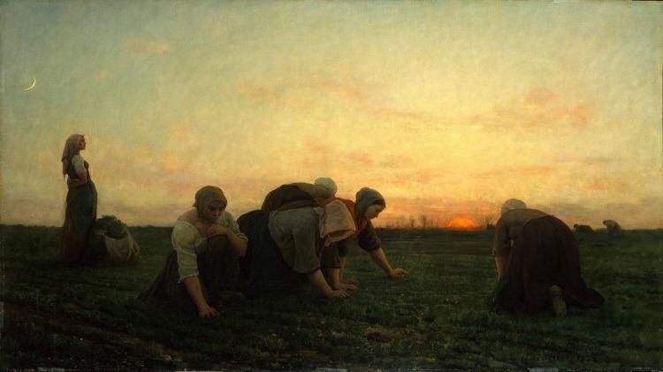 Jules Breton (1827-1906) Les Sarcleuses, 1860