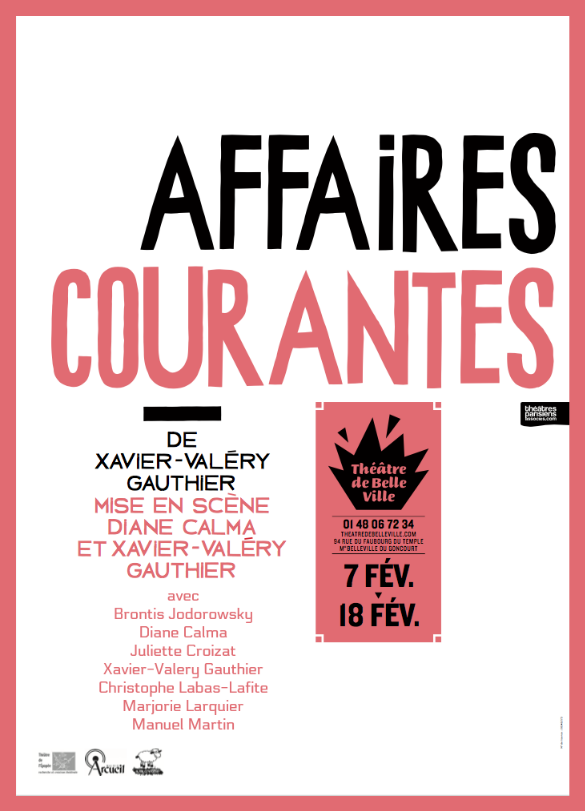 Affaires courantes