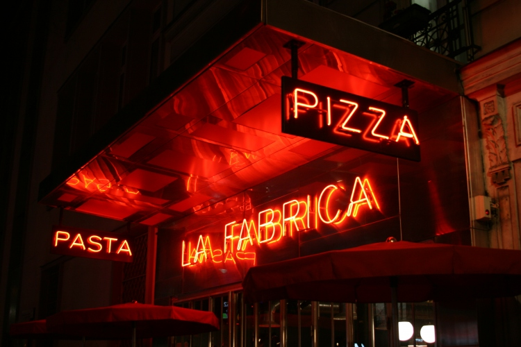 pizzeria la fabrica paris 14