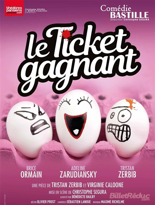 le ticket gagnant comédie bastille