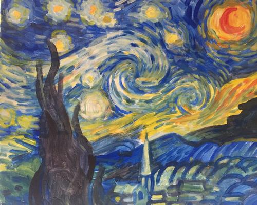 Nuit étoilée - Van Gogh