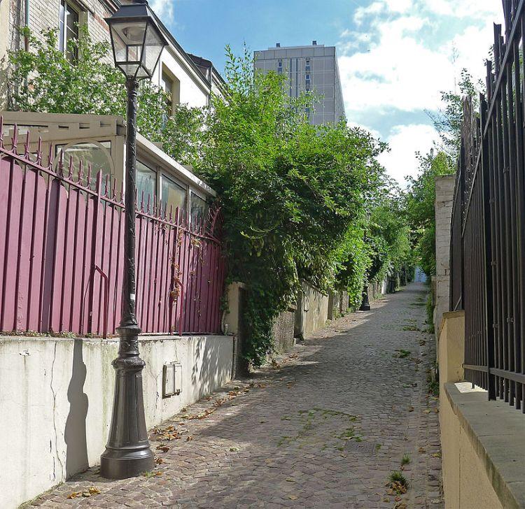 Quartier de la Mouzaïa /