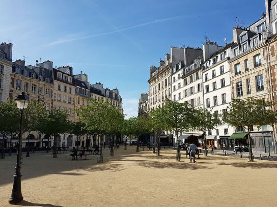 Square de la Place Dauphine