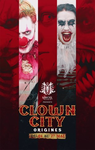 clown city le manoir de paris