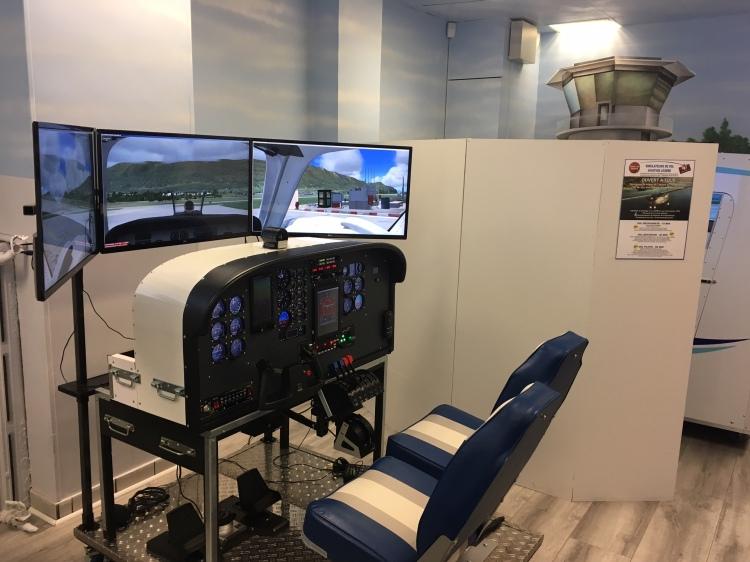 Aéroclub Simulation.