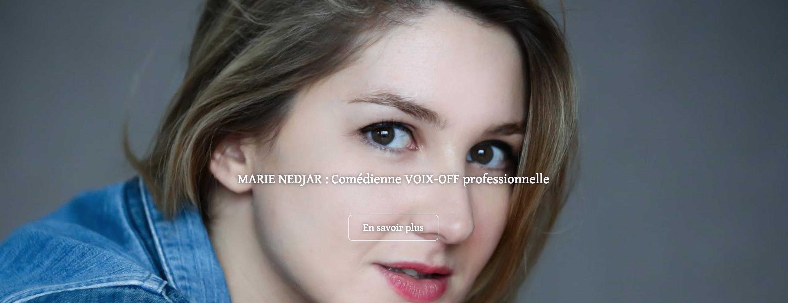 comédienne professionnelle voix off, voix off femme paris