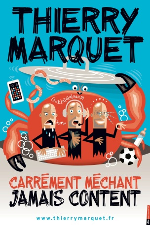 CARREMENT MECHANT JAMAIS CONTENT vecto 40 x 60